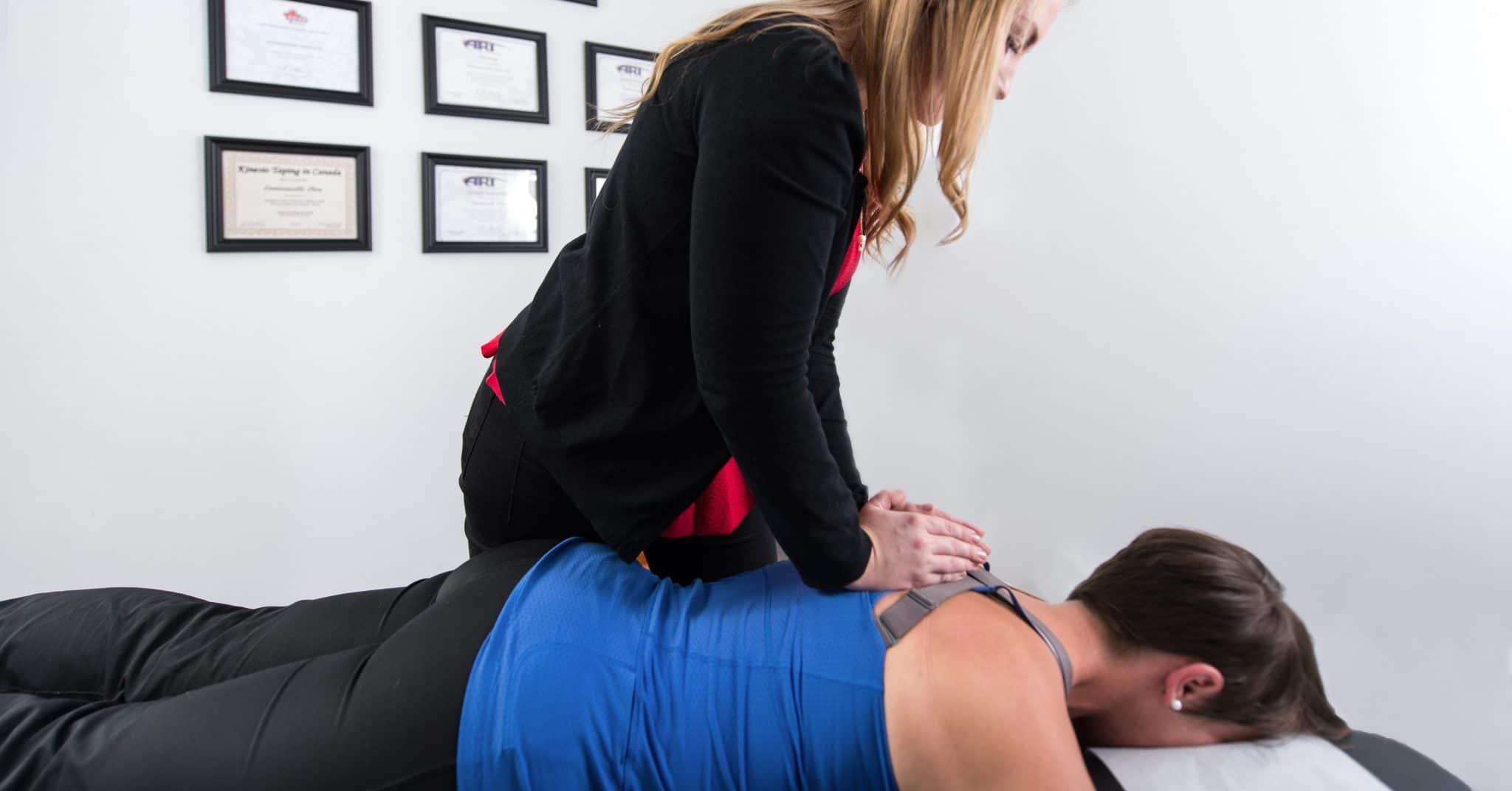 Traitement préventif chiropratique